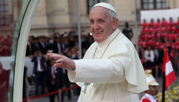 Papa Francisco invoca a Dios para que Perú siga avanzando con firmeza y esperanza (Foto: EFE)