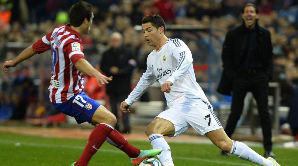 Cristiano, su festejo y el triunfo del Madrid sobre el Atlético - 1