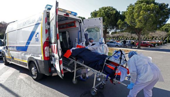 Las unidades de cuidados intensivos de la región de Provence Alpes Cote d'Azur están sobrecargadas de pacientes con Covid-19 y los pacientes son trasladados a la región de Occitanie. (Francia). (Foto: EFE / EPA / HORCAJUELO).