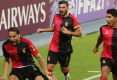 Melgar dio el golpe a Paranaense: ganó 1-0 por Sudamericana