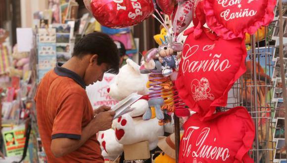 ¿Cuánto invierten los peruanos en regalos para San Valentín?