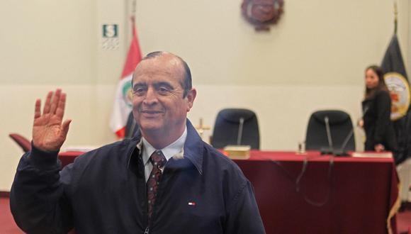 Montesinos es investigado por realizar llamadas irregulares desde la Base Naval. (Foto: EFE / Paolo Aguilar)