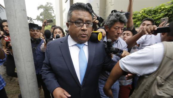 Erasmo Reyna fue abogado del fallecido expresidente Alan García. (Foto: Alonso Chero / GEC)