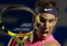 Radaél Nadal derrotó a Andújar y clasificó a octavos de final del Torneo de Acapulco 2020