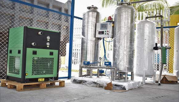 Instalaron planta de oxígeno en hospital Julio Demarini Caro (Foto: Municipalidad Chanchamayo).