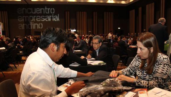 Encuentro Empresarial Andino generó negocios por US$108 mlls.
