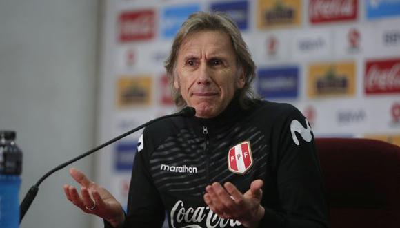 Ricardo Gareca llegó a la selección peruana en marzo del 2015. (Foto: GEC)