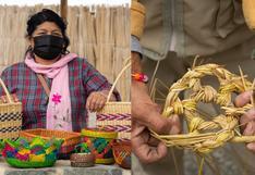 Los artesanos de Vichama que convierten el junco y la totora en estos increíbles productos