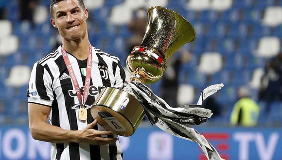 Cristiano Ronaldo se despidió de la Juventus. (Foto: EFE)