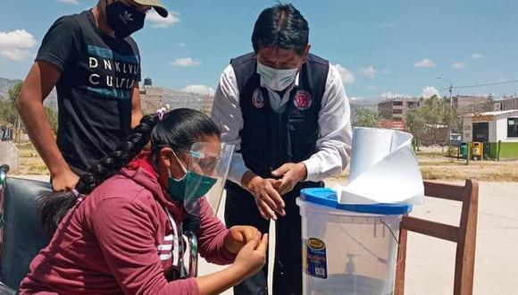 Ayacucho: aplican pruebas rápidas para personas con discapacidad en Huamanga (Foto: Gore Ayacucho).