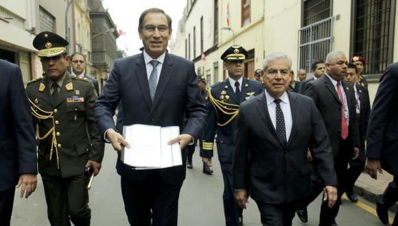 La sesión del Consejo de Ministros está programada para las 3 p.m., según anunció el presidente Martín Vizcarra. (Foto: PCM)