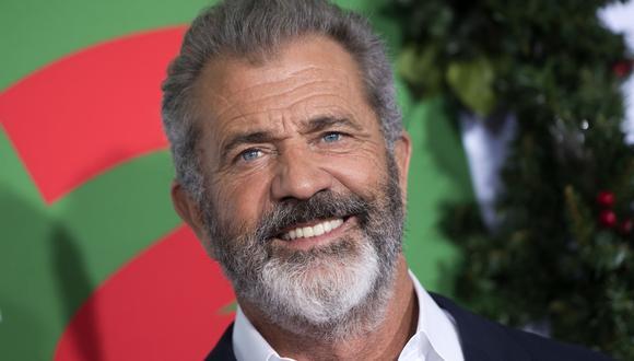Mel Gibson fue hospitalizado durante una semana tras contagiarse de COVID-19 (Foto: Valerie Macon/AFP)