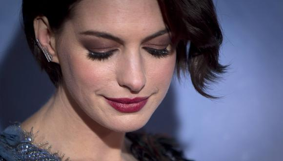 Fotos íntimas de Anne Hathaway son filtradas en redes sociales