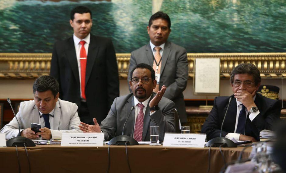 El grupo de trabajo debatió cada una de las seis denuncias constitucionales contra el ex fiscal de la Nación, Pedro Chávarry. (Foto: Alessandro Currarino / GEC)