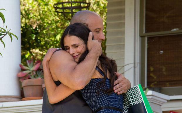 """Jordana Brewster previously expressed her dissatisfaction with the fourth film, as she had a smaller role in which she could not be included in the action.  However, she said she was more pleased with """"Fast Five"""" and """"F9"""" (Photo: Facebook / Vin Diesel)"""