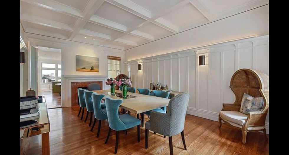 El diseño ofrece vistas de la bahía de San Francisco y el puente Golden Gate desde la cocina, la sala familiar y el dormitorio principal. (Foto: Realtor)