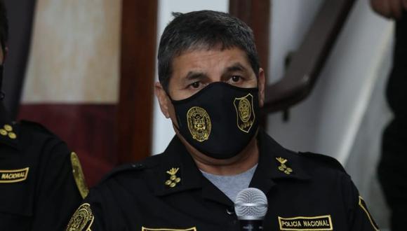 El general Cervantes señaló que más de 80 personas han sido intervenidas, entre el 15 y el 19 de marzo, durante el paro de transportistas de carga.  (Foto: GEC)