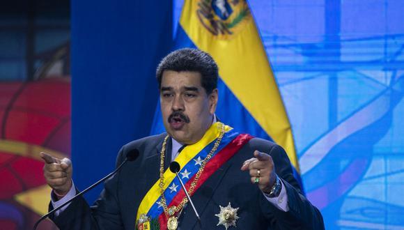 Coronavirus: Nicolás Maduro advierte que vetará cualquier vacuna del mecanismo COVAX que no esté autorizada en Venezuela. (Foto: Yuri CORTEZ / AFP).
