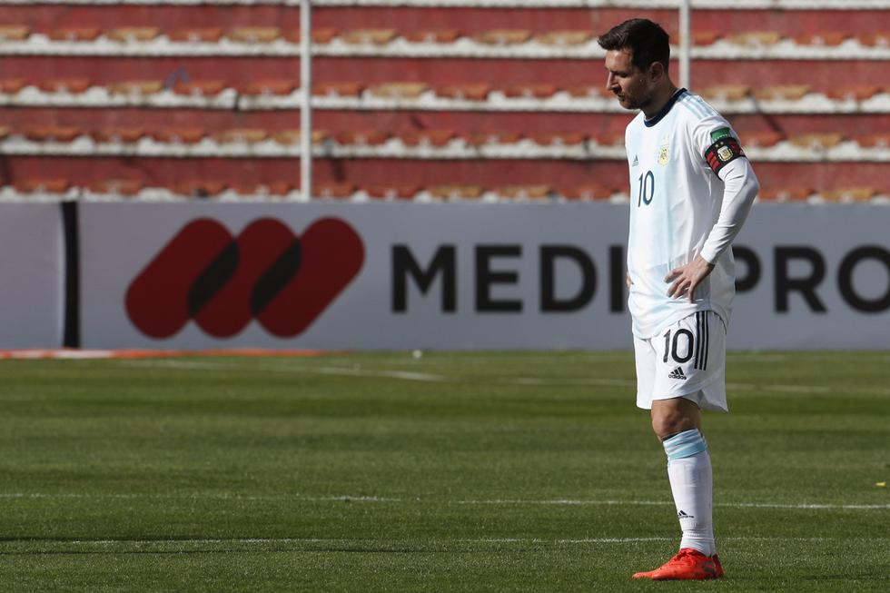 Argentina visitó a Bolivia por las Eliminatorias Qatar 2022