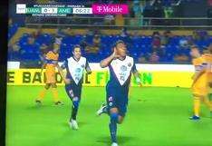 Tigres vs. América: Roger Martínez marcó golazo y puso 1-0 a las 'Águilas' | VIDEO
