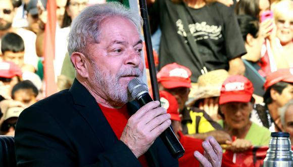 El Partido de los Trabajadores de Lula da Silva dice que mensajes entre Sergio Moro y fiscales demuestran una persecución. Foto: Archivo de AFP