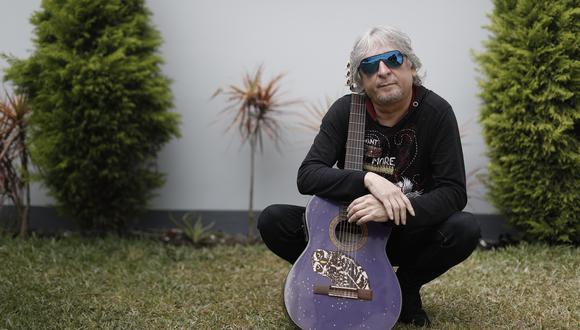 """Pelo D'Ambrosio es creador de canciones como """"Lejos de ti"""". (Foto: GEC/César Campos)"""