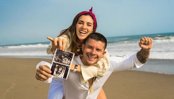 Mario Hart teme por bebé que espera con Korina Rivadeneira (Foto: Instagram)