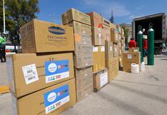 Huancavelica: entregan 17 mil equipos de protección personal para profesionales de la salud