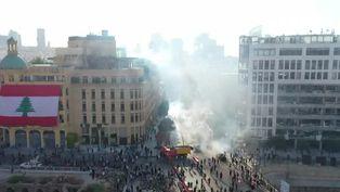Manifestantes en Beirut asaltan brevemente varios ministerios