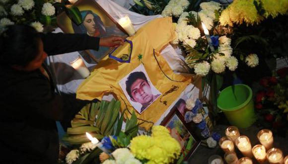 México: Despiden a Alexander Mora, uno de los 43 desaparecidos