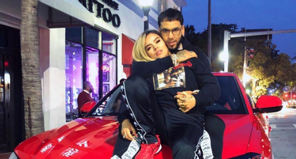 A sus 27 años, la cantante colombiana Karol G ha alcanzado el éxito internacional y ahora realizará una gira con su pareja Anuel AA. (Foto: Instagram)