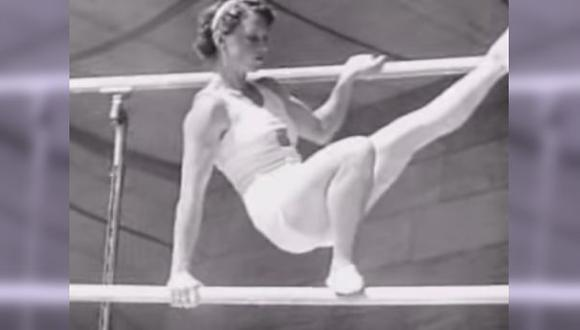Así era la gimnasia olímpica femenina en 1936 [VIDEO]