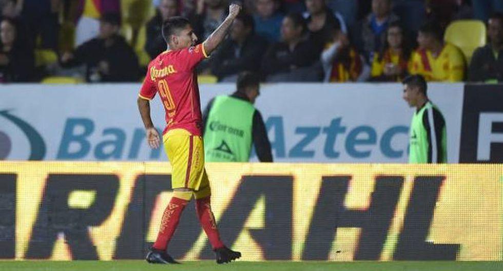 Monarcas Morelia ganó 1-0 a Puebla con gol de Raúl Ruidíaz. (Foto: AFP)