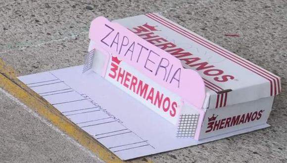 El o la pequeña que realizó esta maqueta está al acecho de la empresa 3 Hermanos para recibir una recompensa. (Captura de pantalla)