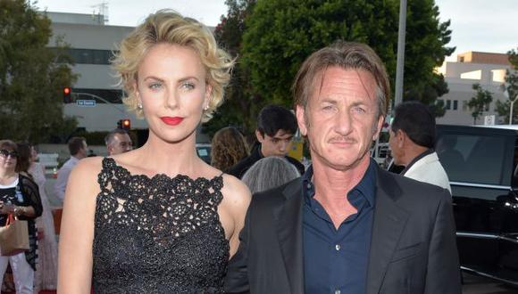 """Charlize Theron: """"Sean Penn es el amor de mi vida"""""""