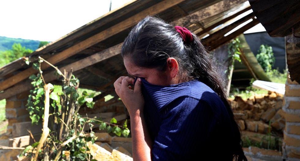 Muchas personas han perdido sus viviendas y pertenencias en el sismo de magnitud 8.