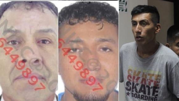 Christian Alvarado, Julio Freddy Ascoitia y Jesús Frany Prieto son investigados por el delito de tentativa de feminicidio. (Foto: composición)