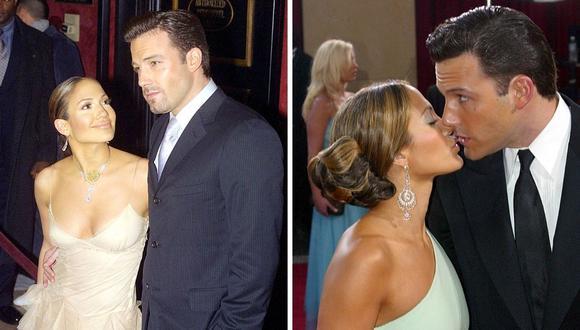 Ben Affleck y Jennifer Lopez mantuvieron un largo romance que acabó en el 2004. (Foto: Doug Kanter / John G. Mabanglo / AFP)