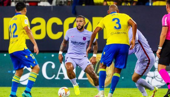 Barcelona igualó 0-0 con Cádiz por la sexta jornada de LaLiga Santander en el estadio Nuevo Mirandilla.