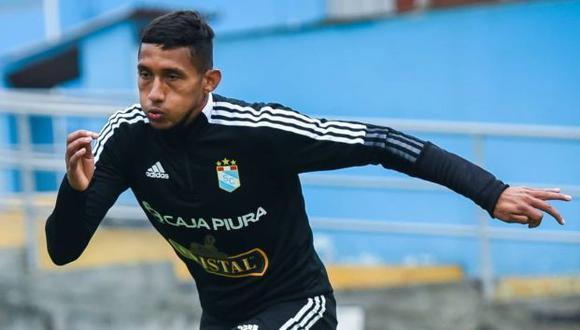 Christofer Gonzales ha jugado doce partidos en lo que val del año con Sporting Cristal. (Foto: Sporting Cristal)