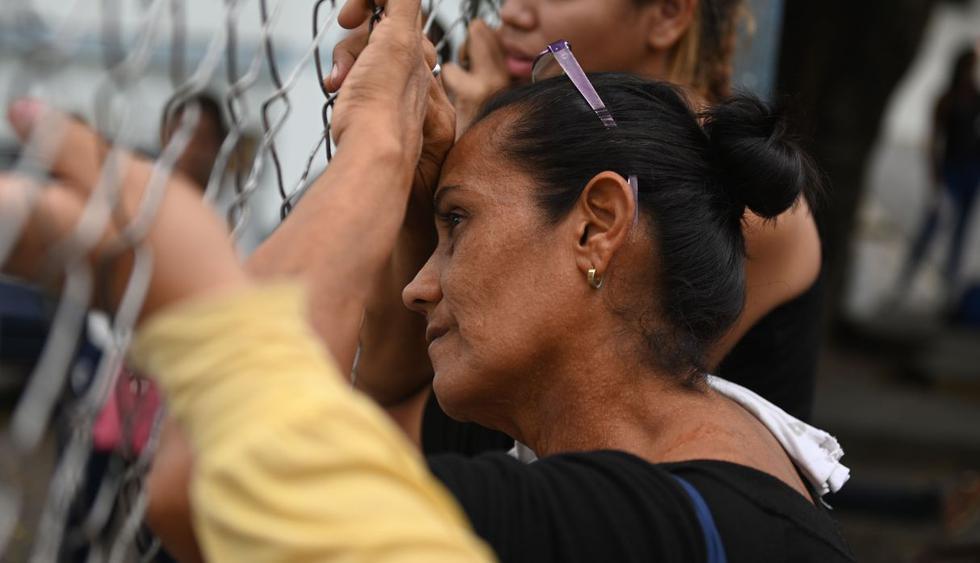Las hacinadas cárceles venezolanas son escenario frecuente de sucesos sangrientos.(Foto: AFP)