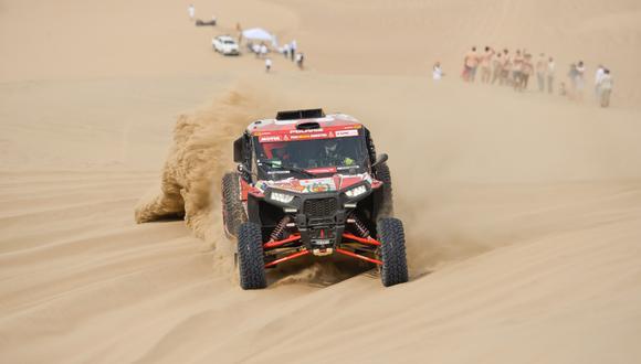 Aníbal Aliaga realizó su primera participación en el Dakar. (Foto: ITEA Photo)