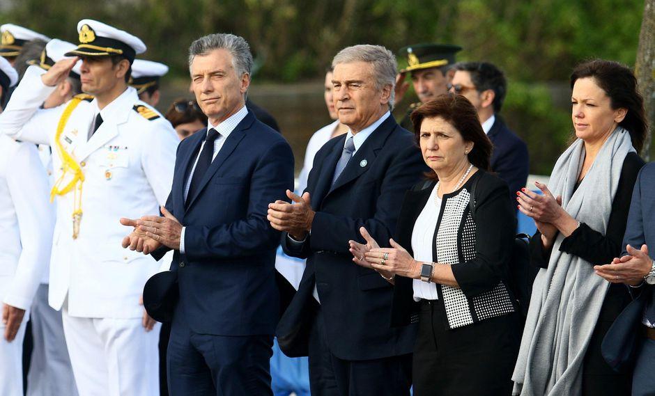 Argentina: Políticos homenajean a los 44 tripulantes del submarino ARA San Juan (Foto: EFE)