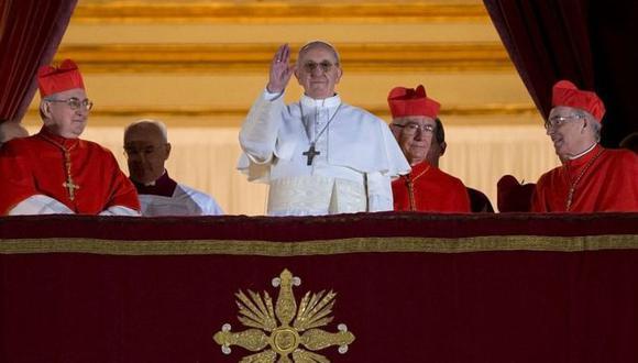 El papa Francisco fue elegido en el 2013.