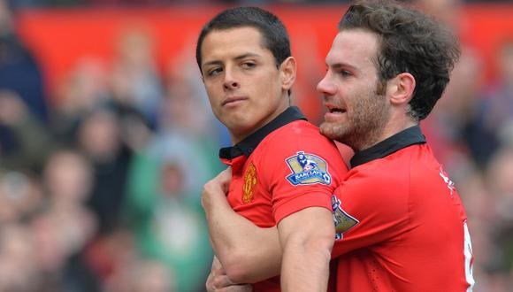 Alex Ferguson recordó el primer gol de 'Chicharito' Hernández con Manchester United. (Foto: AFP)