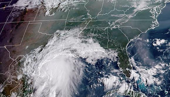 El huracán Nicholas tocará tierra en Texas, Estados Unidos. (AFP).