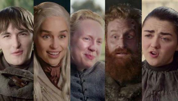 """Protagonistas de """"Game of Thrones"""" se despiden de sus fanáticos con emotivo video. (Foto: Captura de video)"""