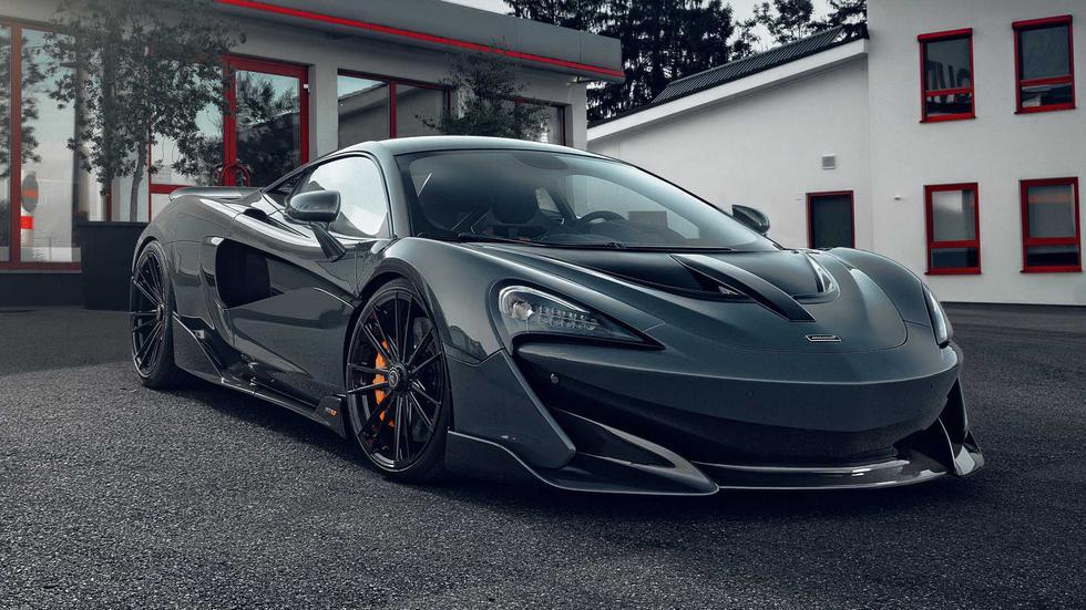 El McLaren 600LT de Novitec alcanza los 688 HP y una aceleración de 0 a 100 km/h en 2.8 segundos. (Fotos: Novitec).