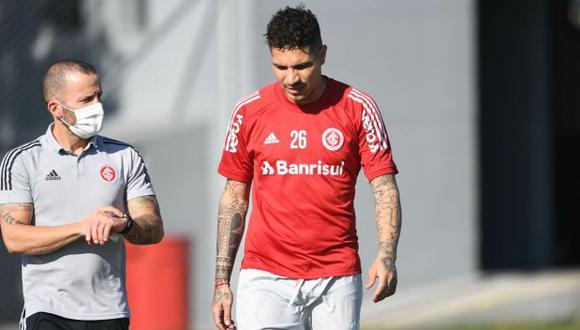Paolo Guerrero tiene contrato con Internacional hasta diciembre del 2021. (Foto: SC Internacional)