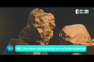 FAE Lima lanza convocatorias para artistas escénicos